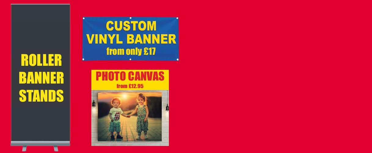 vinyl banners roller banners